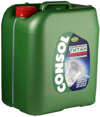 Моторное масло Consol Титан Премиум канистра 20 л