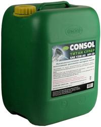 Consol Титан Супер моторное масло канистра 20л