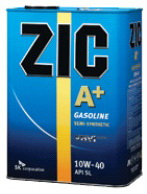 ZIC A+ Gasoline 10W-40 моторное масло