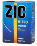 ZIC HIFLO Gasoline 10W-40 моторное масло