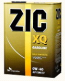 ZIC XQ Gasoline 5W-40 моторное масло