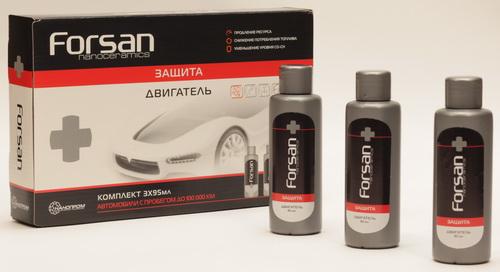 FORSAN Nanoceramics Защита Двигатель
