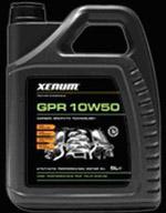 Xenum GPR 10w50 графитовое полностью синтетическое масло для автомобилей класса «4?4» и других, работающих в тяжелых условиях