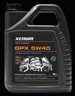 Xenum GPX 5w40 графитовое полностью синтетическое моторное масло для всех типов современных двигателей