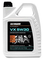 Xenum VX 5w30 полностью синтетическое масло на эстеровой основе с микрокерамикой