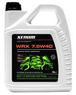 Xenum WRX 7,5w40 полностью синтетическое масло на эстеровой основе с микрокерамикой