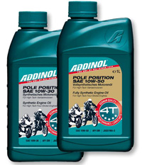 моторное масло ADDINOL POLE POSITION HIGH SPEED 2T
