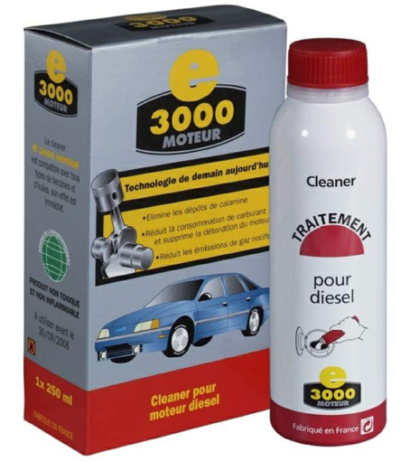 Комплексный очиститель топливной системы дизельных двигателей Энергия 3000