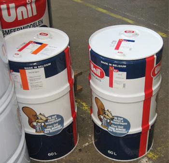 Моторные масла Unil Lubricants в фирменных бочках 200 л