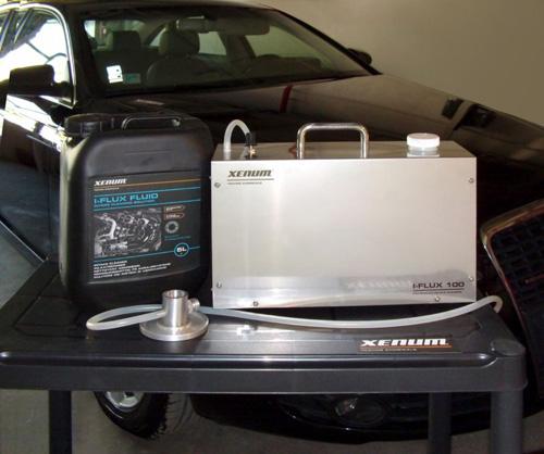 Установка Xenum I-Flux для очистки EGR-клапана