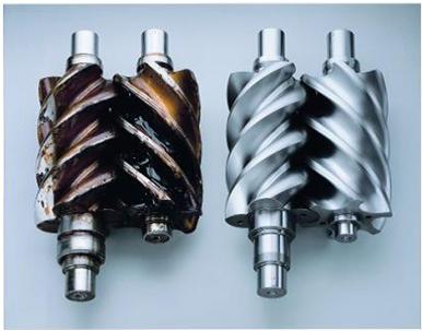 Результат использования минерального и полигликолевого PAG масла Kroon-oil в воздушных компрессорах