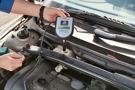 Тестирование тормозной жидкости
