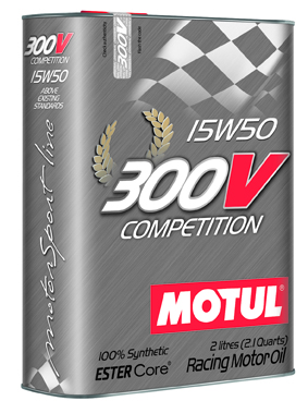 Моторное масло MOTUL motorsport 300V