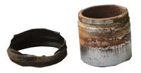 Поршень тормозного суппорта после работы с тормозной жидкостью низкого качества