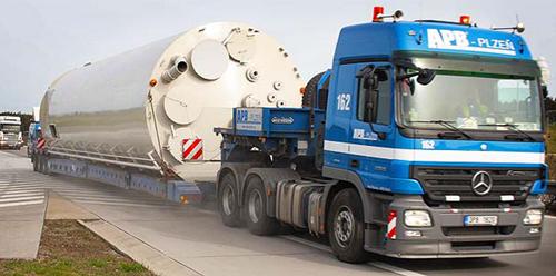 Перевозка негабаритных грузов на специальном транспортном средстве
