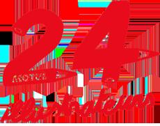 Выставка постеров Гонка 24 часа Ле-Мана logo