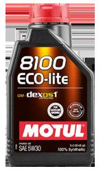 Масло Motul 8100 Eco-lite 5W30 1 литр