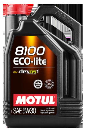 Масло Motul 8100 Eco-lite 5W30 4 литра