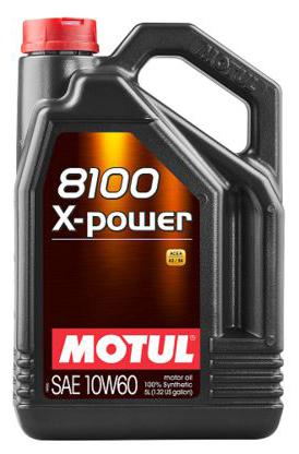 Motul 8100 X-power 10W60 для мощных моторов